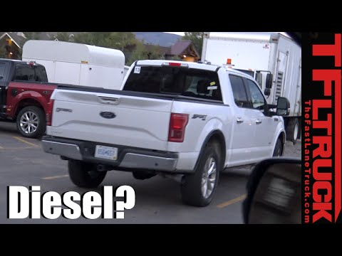 2018 ford diesel truck. brilliant 2018 is this the 2018 ford f150 diesel powered pickup truck spied in wild on ford diesel truck