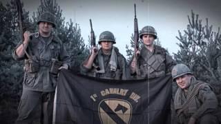 Vietnam War in Minsk - reconstruction