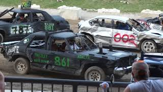 Western Fair Demolition Derby 2017 | IT'S BAACKK! Straight Stock