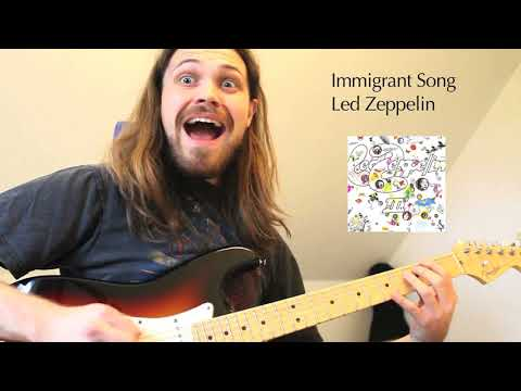 Famous rock & metal riffs - in 7/8 time signature