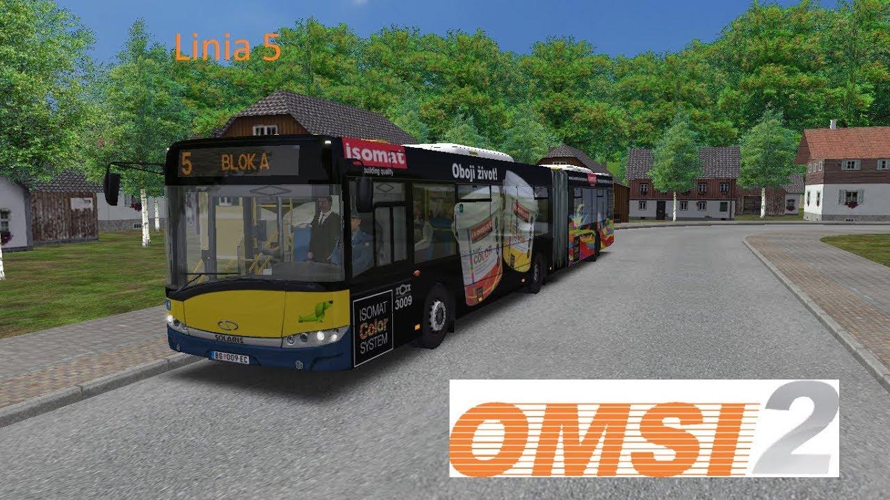 Omsi 2 Becmen Fiktiv V2 0 Linia 5 Solaris Urbino 18 Gsp Beograd