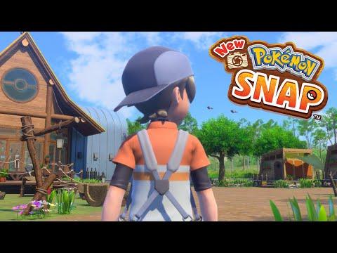 New Pokémon SNAP Ep.1 - ¡BIENVENIDOS A LA REGIÓN DE LENSIS!