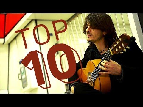 Amazing Street Flamenco Music - Classical Guitar in 4K