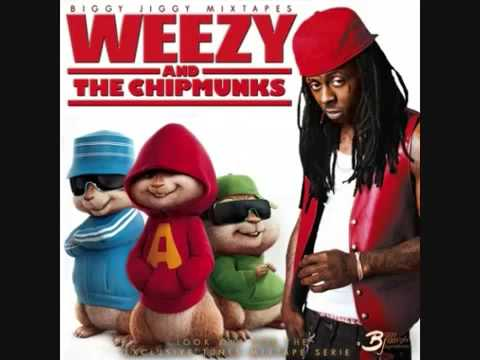 Alvin and the Chipmunks Lil Wayne Ice Cream Paint Job