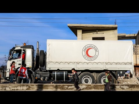 2017 Syria aid missions faced a bleak year