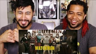 Honest Trailers WATCHMEN Reaction & Discussion by Jaby & Akasan!