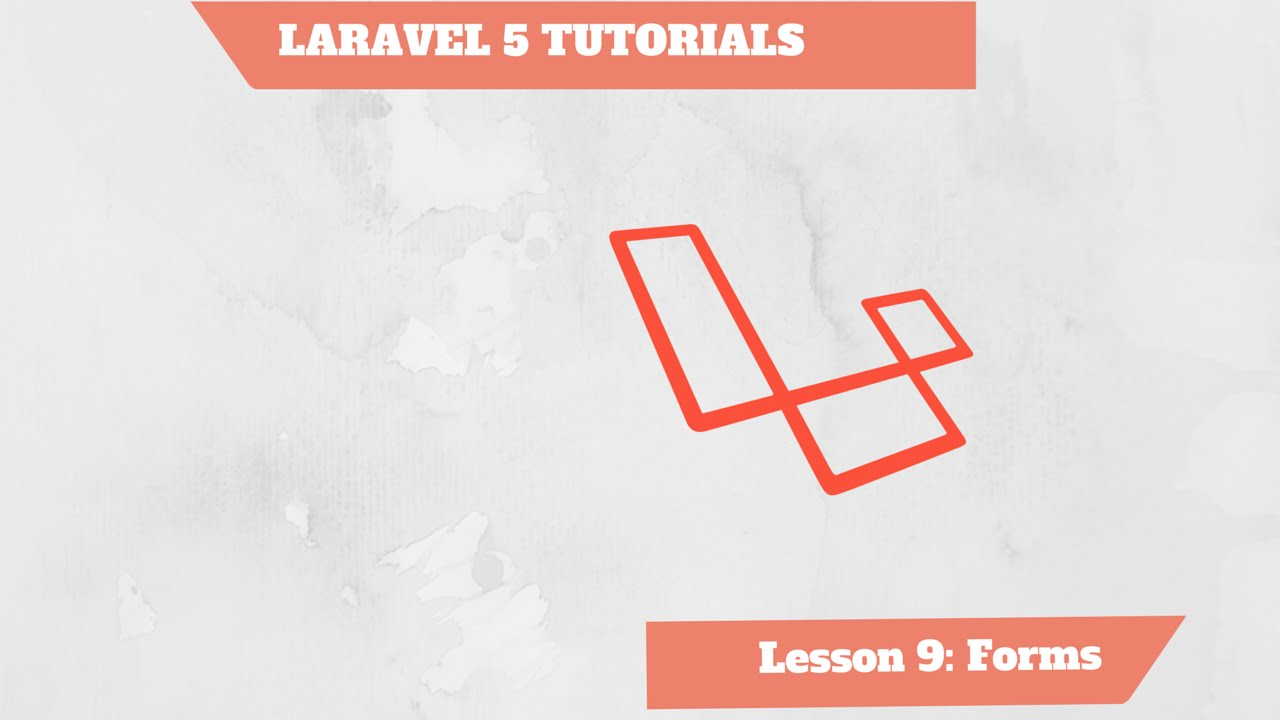 ENG] - Laravel 5 Tutorial PHP 9/10 - Forms - YouTube