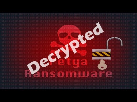 Cyber Criminals Release Petya Ransomware Master Decryption Key