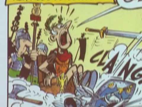 Le nouvel album d'Asterix le gaulois (L'anniversaire d'Astérix et d'Obélix - Le Livre d'Or)