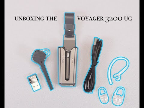 Unboxing The Plantronics Voyager 3200 Uc Youtube