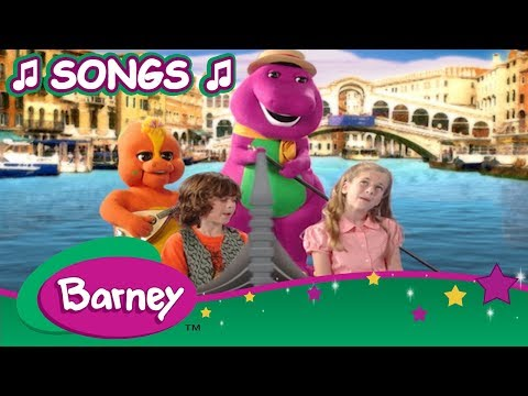 Barney 🎵 Best Song Compilation 🎵 Part 5 ✈️ Let's Go On Vacation