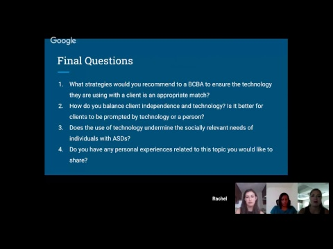 SPCE 619 Debate: Technology Threatens the Future of Special Education and ABA