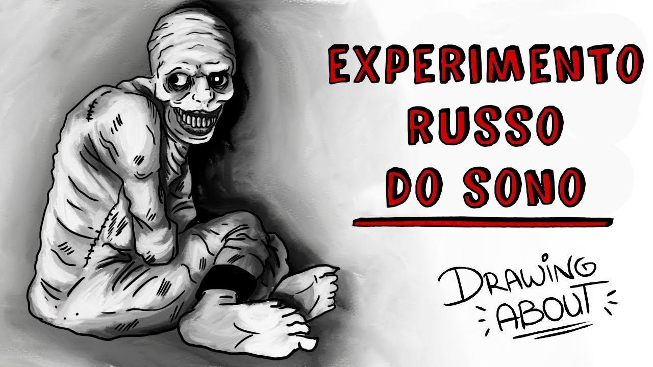 O experimento russo do sono 💀 Draw My Life Português
