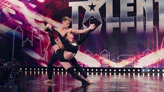 Połączyła ich miłość i wspólna pasja do...gimnastyki! [Mam Talent!]
