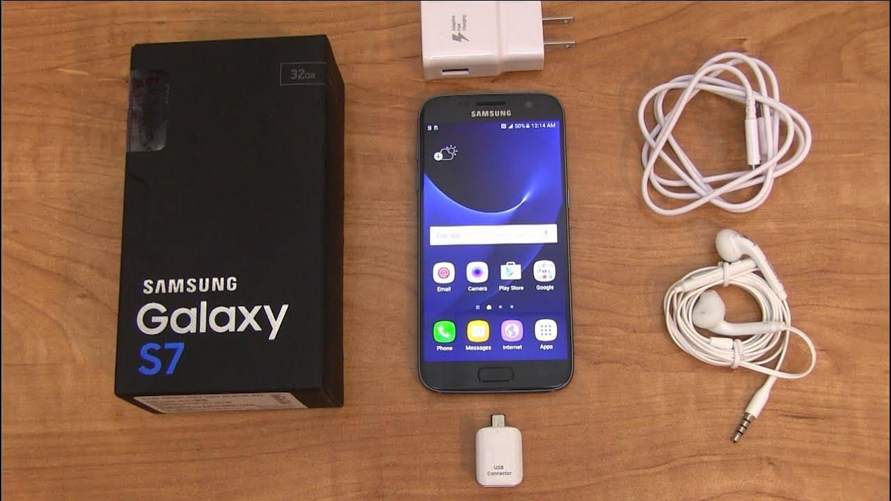Samsung Galaxy S7 - Auspacken