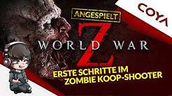 WORLD WAR Z • NEUER ZOMBIE-KOOP-SHOOTER • Gameplay German, Let's Play Deutsch - Angespielt!