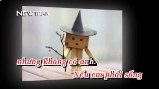 [Karaoke] Can't live without you - Thái Bảo Trâm | Karaoke HD Netitan