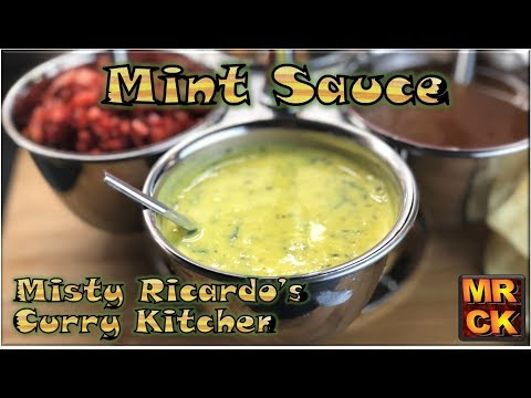 Mint Raita For Poppodoms (Restaurant Style) By Misty Ricardo