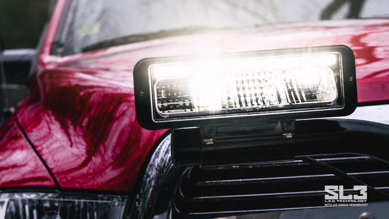 SL3 Snowplow Lighting System | BOSS Snowplow - YouTube