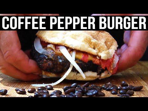 Hambúrguer com café? Sim, existe, e a receita você vê aqui