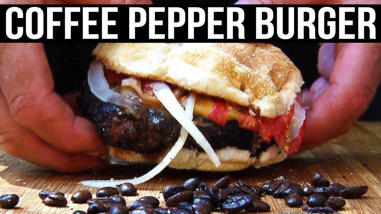 Coffee Pepper Burgers recipe by the BBQ Pit Boys