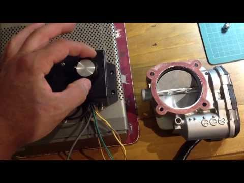Arduino Fly-By-Wire throttle controller