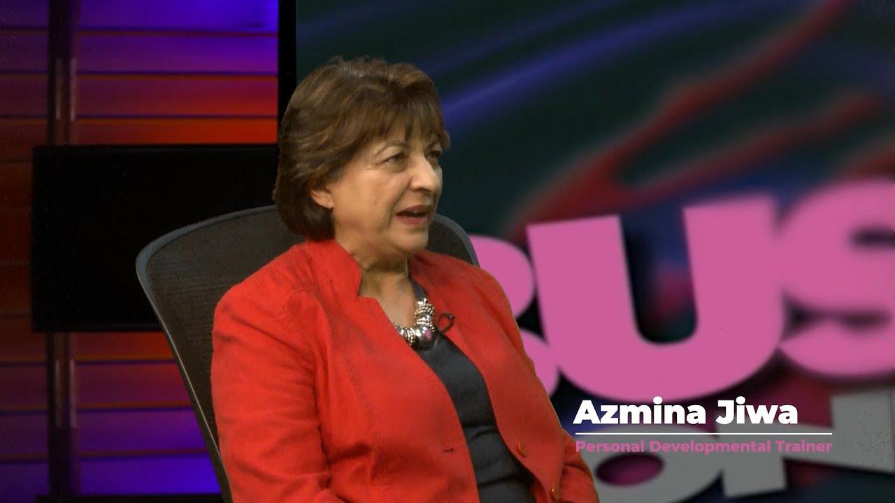 Azmina Jiwa 5 Minute Interview with Steve Hyland