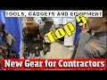 Top 5 Crazy NEW Inventions for Construction Tools, Gadget and Gear you have to see to believe
