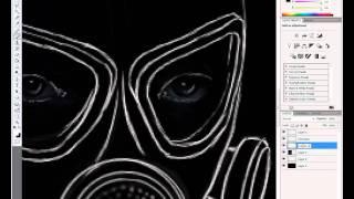 Рисуем сталкера в фотошоп(Сайт автора: http://site-of-stalker.net.ru/ В ускоренном видео показано, как можно нарисовать сталкера в фотошоп. Видео..., 2011-09-29T18:48:25.000Z)
