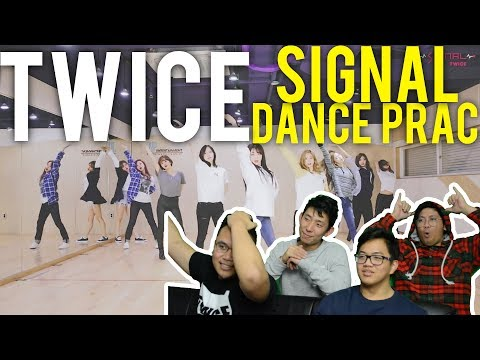 TWICE | SIGNAL DANCE PRACTICE (Reaction)