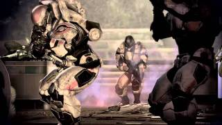 Mass Effect 3 Gameplay Trailer E3 - Fall of Earth(An ancient alien race, known only as Reapers, has launched an all-out invasion leaving nothing but a trail of destruction in their wake. Earth has been taken, the ..., 2011-06-06T15:40:24.000Z)