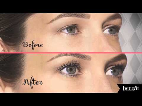 Benefit Cosmetics Roller Lash Mascara Before & After   Ulta