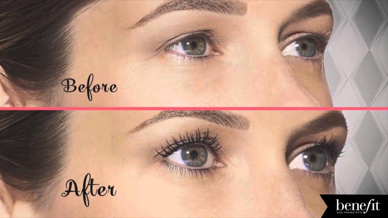 e3a52526db4 Benefit Cosmetics Roller Lash Mascara Before & After | Ulta Beauty ...