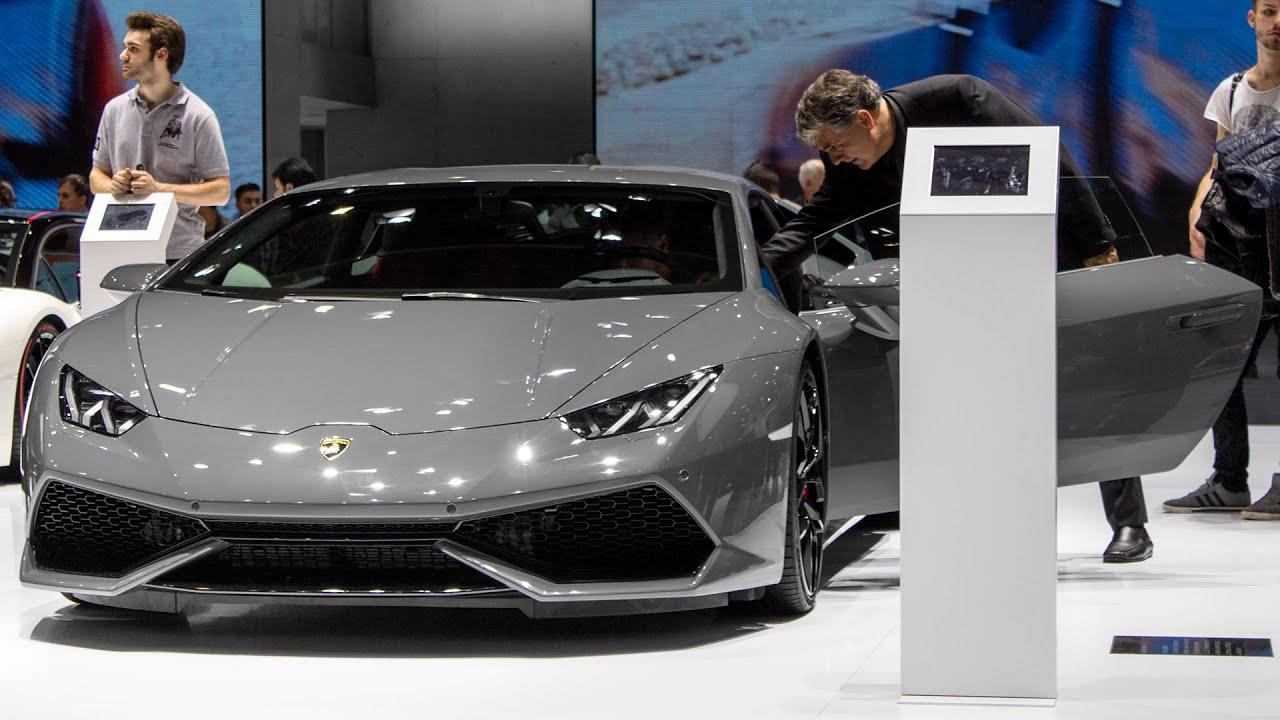 lamborghini huracan lp610 4 geneva motor show 2015 hq - Lamborghini Huracan Grey