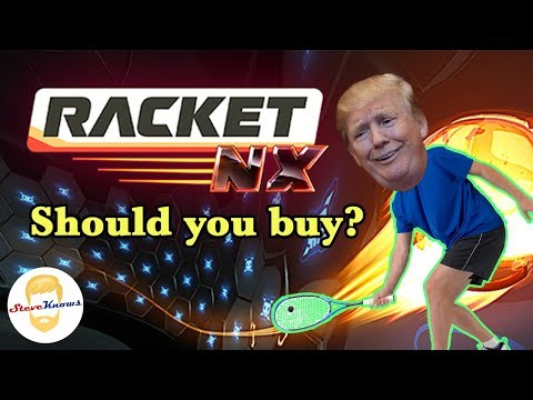 Racketball on Steroids! - Racket Nx Review on Oculus Quest