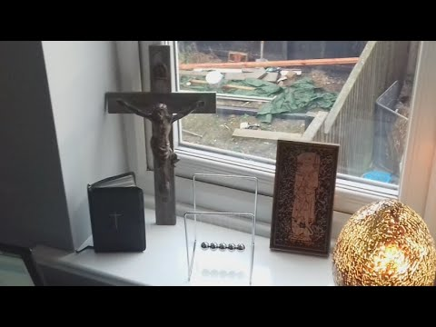 Live Spirit Box With The Antique Bible That Keeps On Moving!