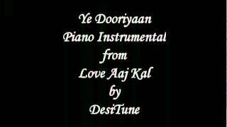 Ye Dooriyan Piano Instrumental