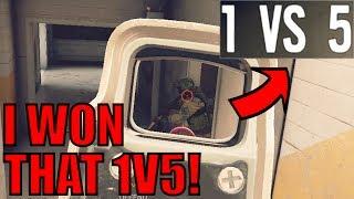 I WON THAT 1V5! - Rainbow Six Siege Gameplay