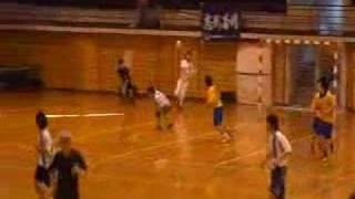 2007年12月16日(日)第16回福岡県学生ハンドボール選手権大会・男子、福岡大学 vs 福岡国際大学【前半】
