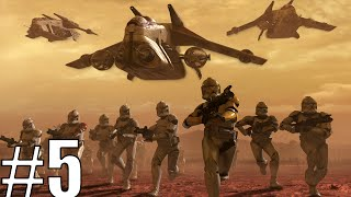 Star Wars Republic at War as The Republic Part 5 Battle of the Space Giants