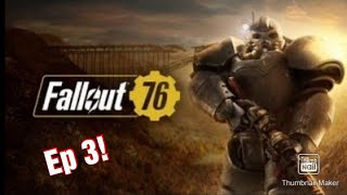 Fallout 76 ep.3 zombien tapte sæben lol