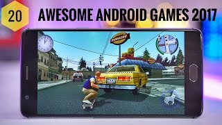TOP 20 BEST ANDROID GAMES 2017 | MUST PLAY