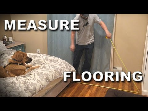 How Much Flooring Should I Buy How To Measure A Floor Youtube