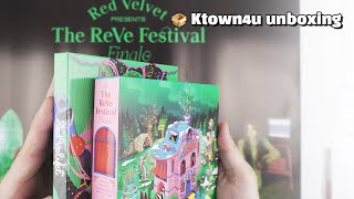 "Unboxing Red Velvet ""The ReVe Festival Finale"" the Repackage album, レッドベルベット 레드벨벳 언박싱 Kpop Ktown4u"