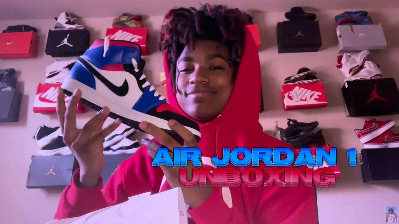 """AIR JORDAN 1 MID """" TOP 3 """" UNBOXING 😱 +"""