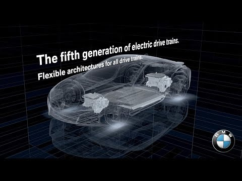 BMW Group Electrification Strategy: 5th Generation Electric Drivetrains