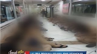 Penggerebekan Pesta Sex Sesama Jenis, 141 Pria Diamankan Part 02 - SAL 22/05