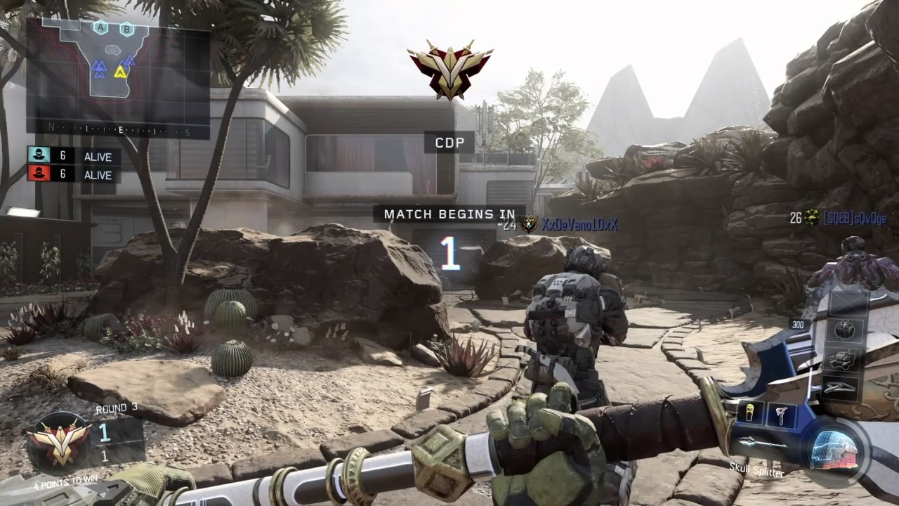 MELEE WEAPONS ONLY PUBLIC SND GAME Search and Destroy on Combine