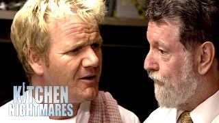 Chef Ramsay Furious at Awkward Pub Manager | Kitchen Nightmares