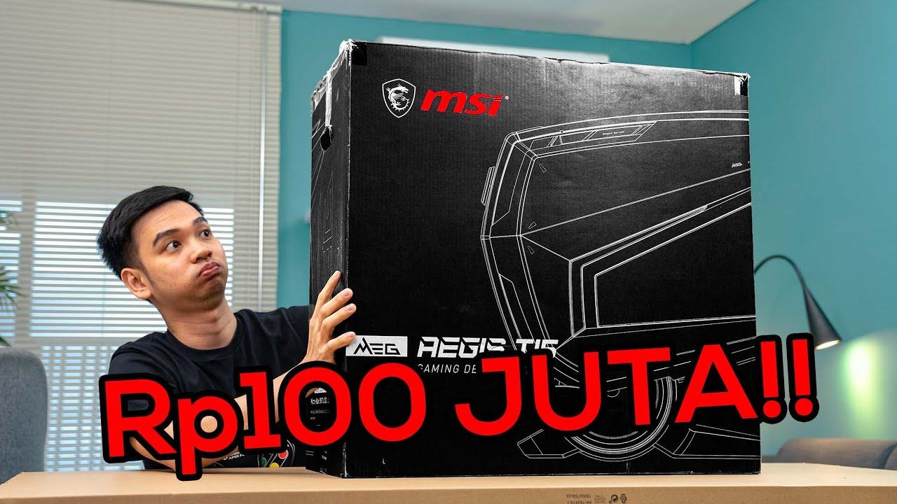 Download Dikirimin PC Gaming Rp100 JUTA oleh MSI....